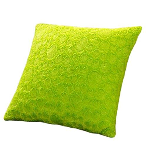 Ruikey Soft Plush Decoración para el Hogar Sofá Fundas de cojín de...