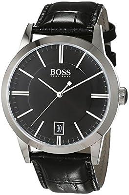 Hugo Boss-Reloj de Pulsera analógico Cuarzo Piel