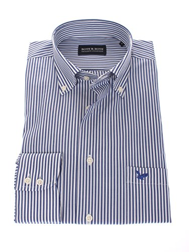 Bots & bots 178615-xl camicia uomo - manica lunga - comfort stretch - 97% cotone / 3% lycra - button down - normal fit