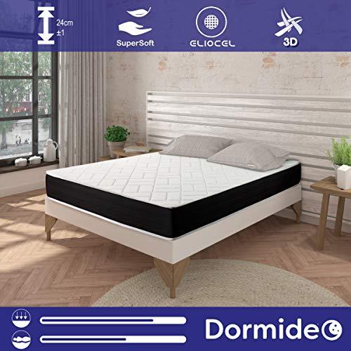 DORMIDEO - Elixir Memory Foam Matratze - reversibel (Winter / Sommer), antibakteriell, 90x190cm