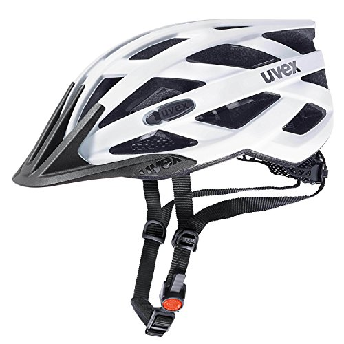 Fahrradhelm Uvex i-vo cc, white-black mat, 56-60 cm