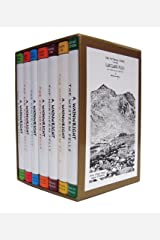 Pictorial Guide To the Lakeland Fells Collection 7 Books Set By Alfred Wainwright (50th Anniversary Edition) Hardcover