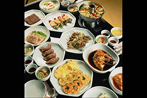 772004 Korean Food A4 Photo Poster Print 10x8 Test