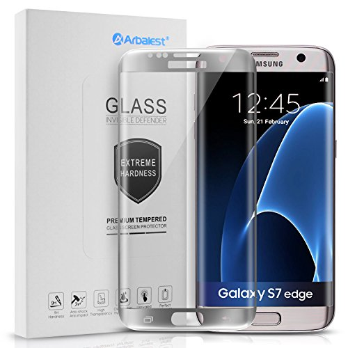 arbalestr-galaxy-s7-edge-protectores-de-pantalla-cristal-templado-curvo-marco-plata