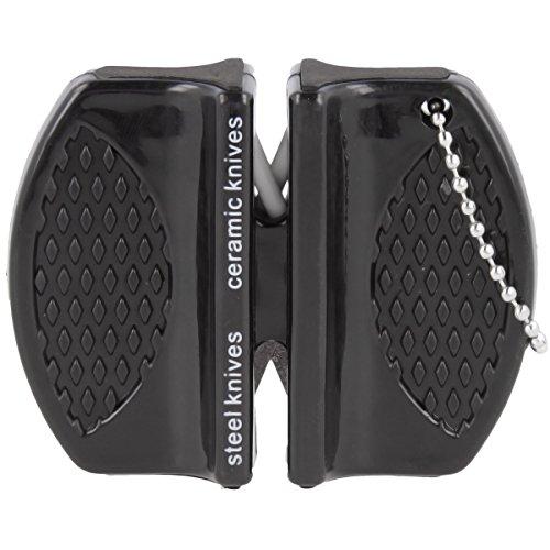 Premium Micro Messerschärfer Messerschleifer Keramikschärfer mit zwei Schärfegraden
