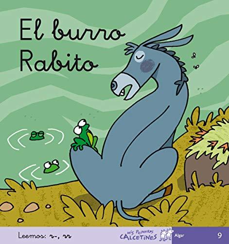 El Burro Rabito - Manuscrita (MIS PRIMEROS CALCETINES) - 9788496514393