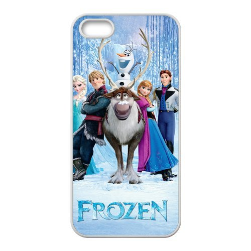 Coque de protection en tPU pour iPhone 5/5S, la reine des neiges coque de protection silicone pour iPhone 5S soft shell étui de protection pour iPhone 5/5S