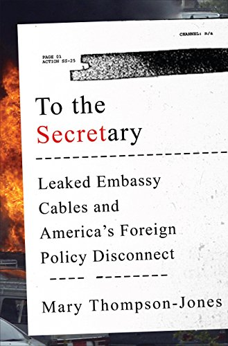 To the Secretary: Leaked Embassy Cables and America's Foreign Policy Disconnect (English Edition) -