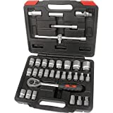 Hilka 01123202 32pce 1/2-inch Drive Socket Set