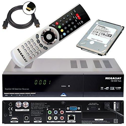 festplattenresiver MegaSat 0201086 Twin HD-Receiver 935  mit 1TB Festplatte