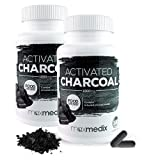 Activated Charcoal - Multipack - Aktivkohle zum Entgiften Und Detox - Reinigt Und Entgiftet Den Körper Effektiv - Unterstützende Wirkung beim Abnehmen Und Für Hellere Zähne Durch Aktivierte Kohle (2)