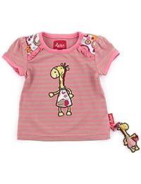 Sigikid Baby Mädchen - Safari T-Shirt 153102 Bubblegum gestreift