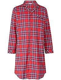 2e11fab0c1 Walker Reid Mens Premium Luxury Check Print 100% Yarn Dyed Cotton 140 GSM  Long Sleeve