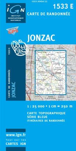 Jonzac GPS: IGN1533E