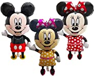 44 inch Giant Mickey Mouse and Minnie Mouse foil Balloons Cartoon Birthday Party decorations Kids Baby shower