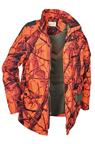 HUBERTUS Signal Jagdjacke Signaljacke Herren Orange Camo , Größen:L