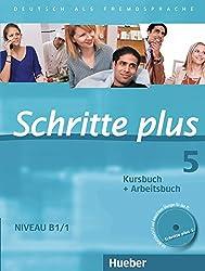 Schritte Plus: Kurs- Und Arbeitsbuch 5 MIT Audio-CD Zum Arbeitsbuch