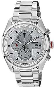 Citizen Eco-Drive Analog White Dial Men's Watch - CA0360-58A