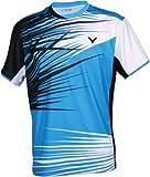 Victor T-Shirt Korea National, Blau/Schwarz/Weiß, XL