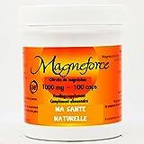 Magneforce-Citrato de magnesio 1000mg, 100cápsulas