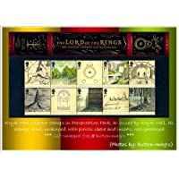JRR TOLKIEN The LORD OF THE RINGS 2004 PRESENTATION PACK NO. 356 * Royal Mail Mint British Collector Stamps - MNH * No. of Stamps: 10 1st CLASS STAMPS