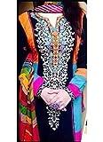 Salwar Suit Women's Black Cotton New Sty...