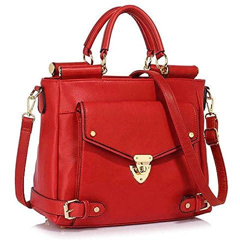 New Women Designer HandBags Ladies Faux Leather Shoulder Tote Satchel Elegant Design Cross Body Grab Stylish Handbags