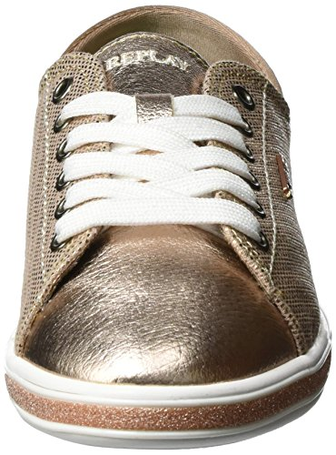 REPLAY Perry, Sneaker Donna Gold (Copper)