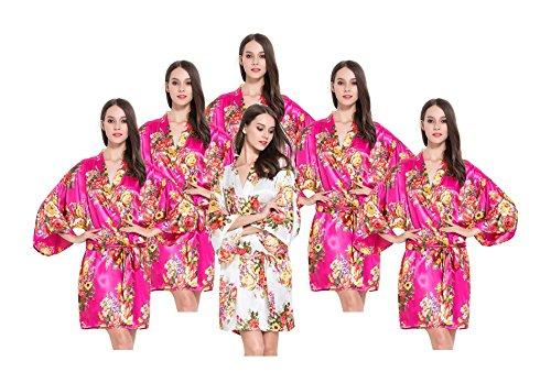 Fete Fabulous - Robe de chambre - Femme Cerise