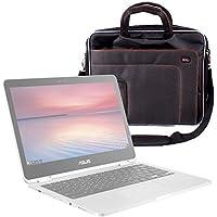 Maletín De Alta Calidad Para Portátil Asus Chromebook Flip C302CA , PRO B9440 , ZenBook Flip UX360UA , ZenBook 3 Deluxe (UX490UA) - Con Asa Regulable Para El Hombro - DURAGADGET
