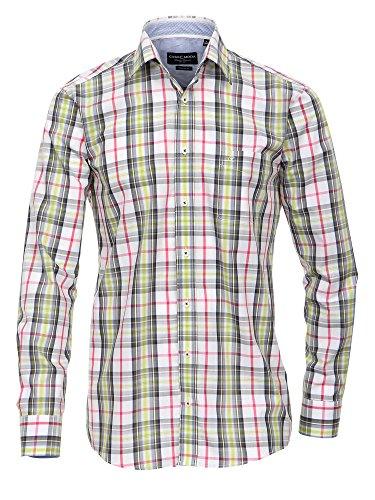 CASAMODA Herren Businesshemd 441906000 Regular Fit bügelleicht Multicolor