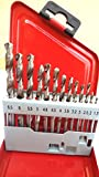 #6: Jonbhandari13 Pcs Hss Drill Bits Set For For Wood, Iron, Aluminium, Plastic Etc