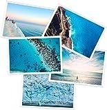 5-er Pack magnetische Fototaschen. Diese Fototaschen sind ideal dafür geeignet, um Ihre Fotos auf dem Kühlschrank oder anderen magnetischen Oberflächen anzubringen und zu schützen.