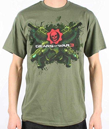 Loud Distribution Gears of War 3-Lancer Men's T-Shirt