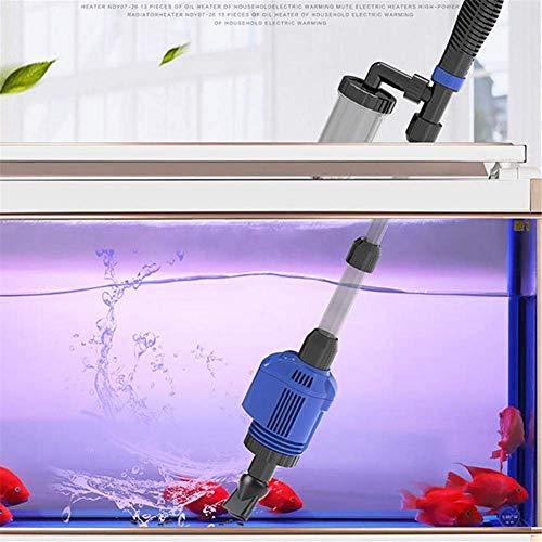 AOOPOO Aquarium Reiniger Aquarium-Staubsauger elektrischer Wasser-Wechsler Aquarium Sand Waschgerät Aquarium Wasserfilter Reiniger für große und kleine Aquarium Reinigung Fisch Wasser Sand Wäsche