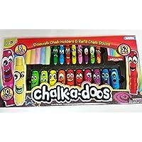 Chalk-a-Doos 52 piece set Monsters by Chalk-a-doos