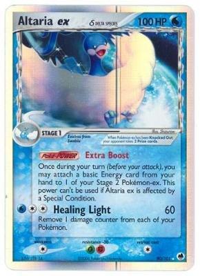 Altaria EX - Dragon Frontiers - 90 [Toy]