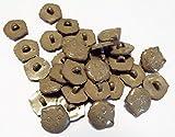 5 Knöpfe grau Katzenkopf 15 mm