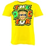 VR46 Herren Rossi Face Tee, Yellow, XL