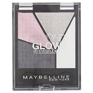 Maybelline Eye Studio Diamond Glow Eye Shadow Quad - Grey Pink Drama 12