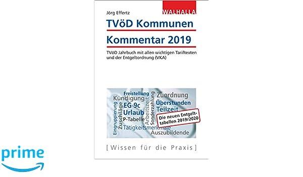 Tvöd Kommunen Kommentar 2019 Tvöd Jahrbuch Mit Allen Wichtigen