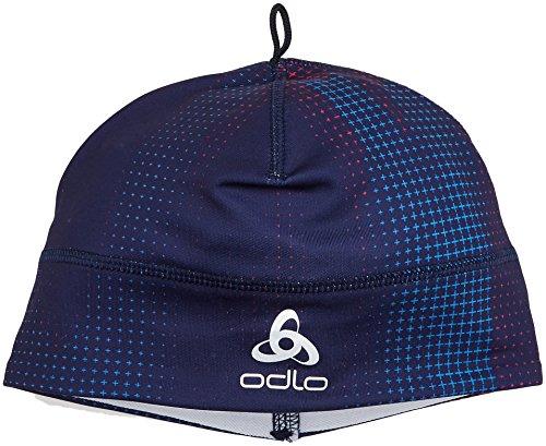 Odlo Hat Polyknit Mützen, Peacoat Aop, One Size