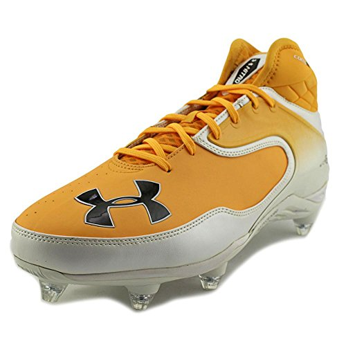 Under Armour Team Nitro Icon Mid D Large Synthétique Baskets Wht-Sgd-Blk