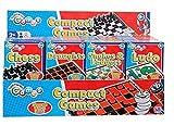 Reisezeit! 2X Traditionelle Magnetspiele . Schlangen und Leitern & Ludo. Große Spiele in Mini-Packs!