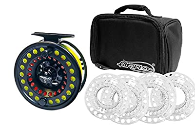 Airflo Switch Black Cassette Fly Fishing Reel with 5 Spools Ex-Demo from Airflo
