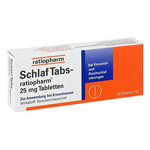 SchlafTabs-ratiopharm, 20 St.