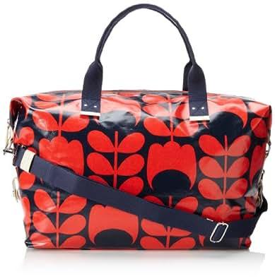Orla Kiely Womens Shoulder Bag 14RETUS132-4650-00 Blue Red