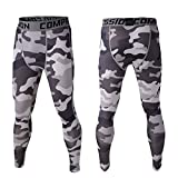 Vertvie Herren Leggings Pro Sport Leggings Fitness Hose Slim Fit Lange Unterhose Kompression Tights...