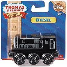 Mattel Thomas Fisher Price Y4079 - Locomotora Diesel (tamaño pequeño)