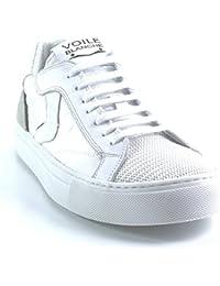 Voile Blanche - Zapatillas de Piel para hombre Blanco blanco